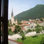 Hotel Coroana Brasovului - Vedere din balcon