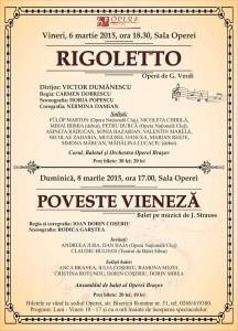 Opera Braşov - Martie 2015