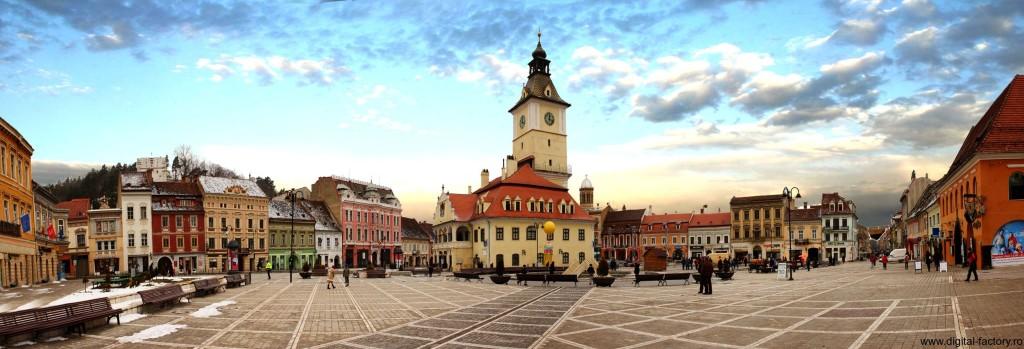 Brasov-Panorama-Piata Sfatului