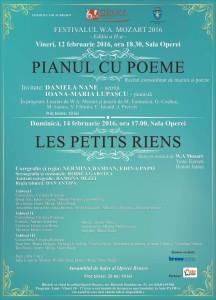 Pianul cu Poeme, Festivalul W.A. Mozart