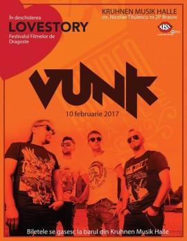 Concert Vunk la Brasov - deschidere Love Story Festival