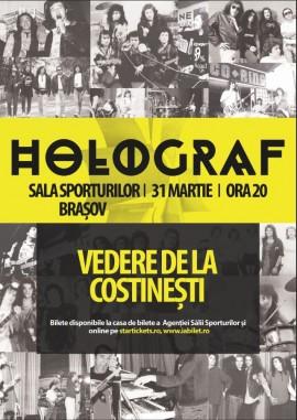 Concert Holograf Brasov 31 martie 2017, Sala Sporturilor