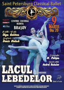 Lacul Lebedelor, Brasov 2018 - Sankt Petersburg Classical Ballet