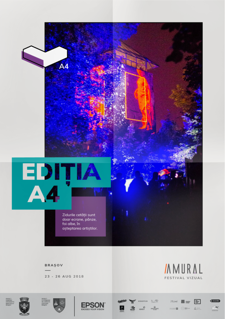 Amural a4 Brasov 2018