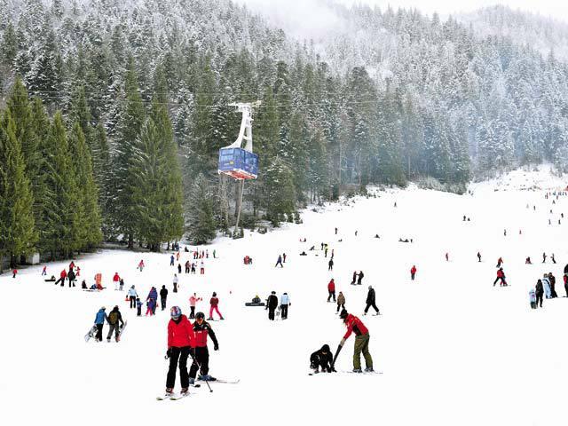 deschiderea sezonului de iarna Poiana Brasov