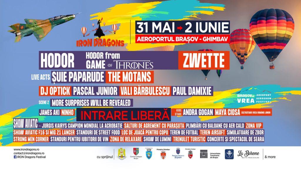 Program Iron Dragons Festival Brasov 2019