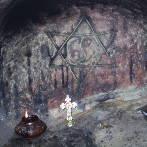 Steaua lui David - Templul Ursitelor